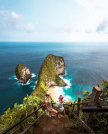 Karang Dawa View​ Point or Kelingking cliff